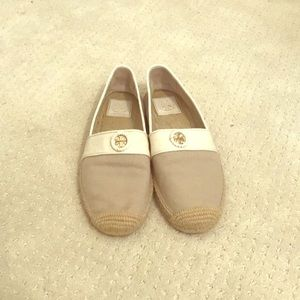 Tory Burch slip on espadrilles-size 8.5